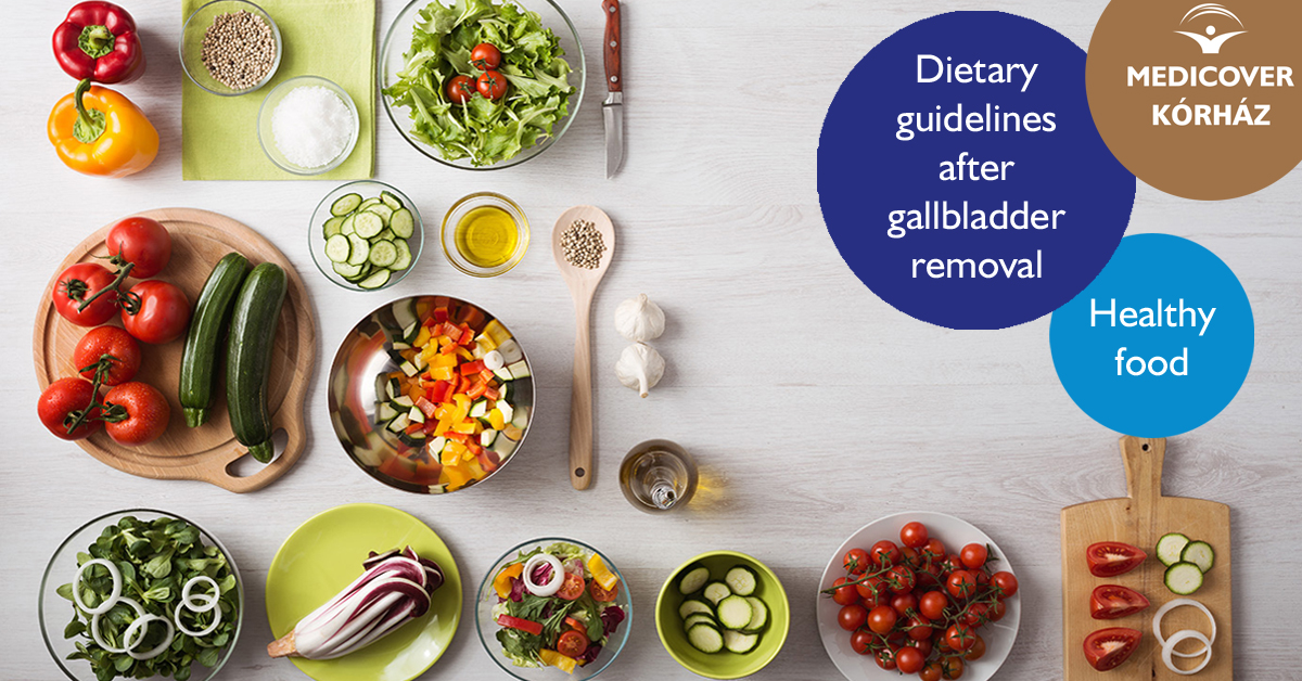 what diet is there for gallbladder removal
